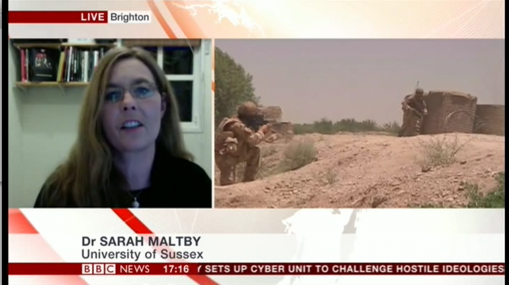 Sarah Maltby on New Army Brigade Social Media